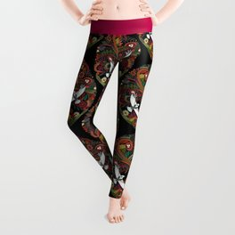 tree of life black Leggings