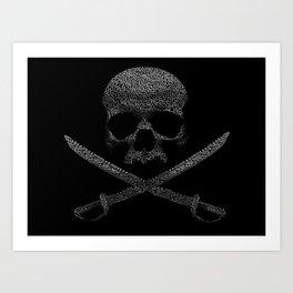 Type Pirate Art Print