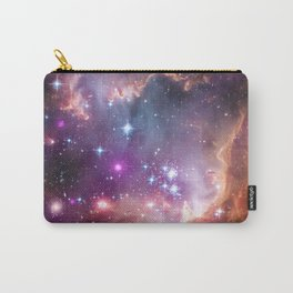 Bright nebula galaxy space and stars hipster geek cool geeky gift Carry-All Pouch