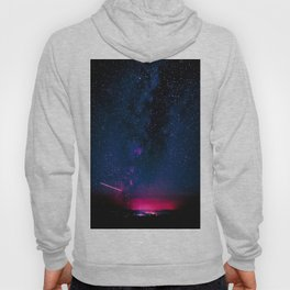 Electric Desert Starry Night Hoody