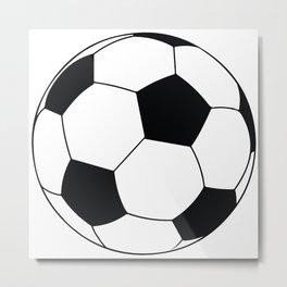 World Cup Soccer Ball - 1970 Metal Print