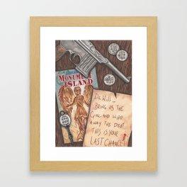 Columbia Framed Art Print