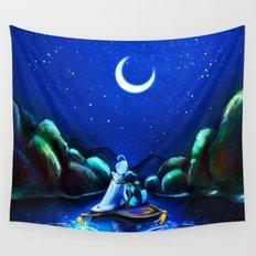 Starry Night Aladdin Wall Tapestry