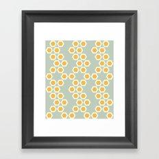 Moroccan Style Orange. Framed Art Print