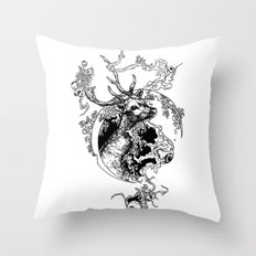 Spirit Of  The Forest Throw Pillow