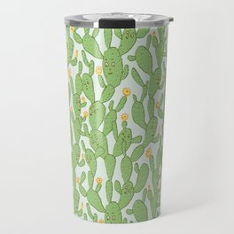 Happy Cactus | Pattern Travel Mug