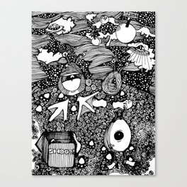 Planet Shooz | Limited Edition of 50 Prints Canvas Print