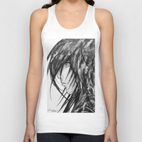 no face Tank Tops featuring Face by rchaem