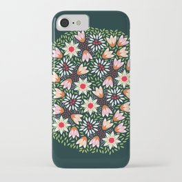 Bed of Flowers iPhone Case