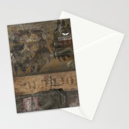 Old Lion (Boro Style) Stationery Cards