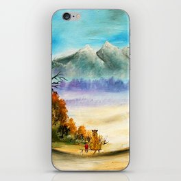 Calvin And Hobbes Look To The Something iPhone Skin