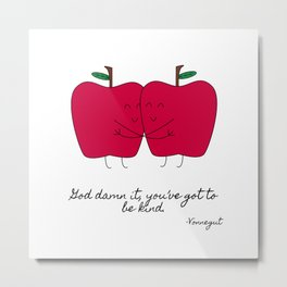 Kind Apples (or An Ode To My Imaginary Boyfriend) Metal Print