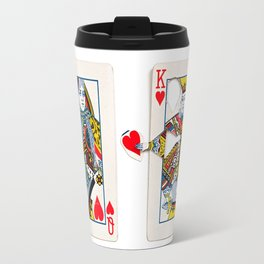 The King knows what the heart wants. Travel Mug