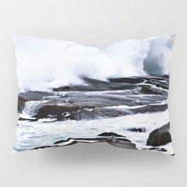 Ferocious Ocean -- Peggy's Cove, Nova Scotia  Pillow Sham