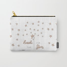 Reach for the Stars (gold version) Carry-All Pouch