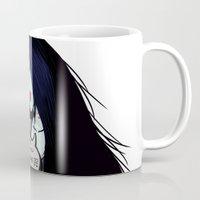 marceline Mugs featuring Marceline, the vintage vampire by DESTINESIA