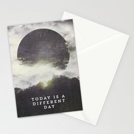 Today is a different day Stationery Cards