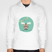 monty python Hoodies featuring Monty Mouse by Little Joy Designs