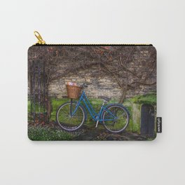 Rainy Day Ride in Cambridge Carry-All Pouch