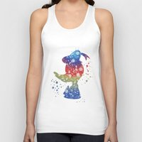 donald duck Tank Tops featuring Donald Duck Disneys by Carma Zoe