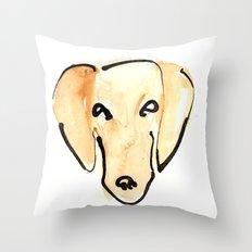 Daschshund Throw Pillow