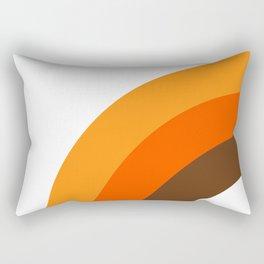 Harvest Rainbow - Left Side Rectangular Pillow
