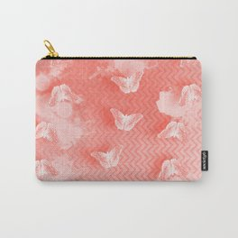 Ordered butterflies in rows Carry-All Pouch