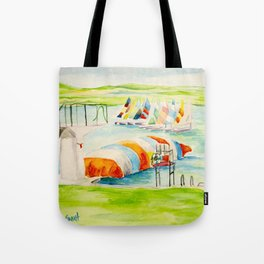 Camp Longhorn - The Blob Tote Bag