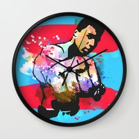 ali Wall Clocks featuring Ali by BIG Colours