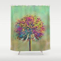 Dandelion Fantasy Shower Curtain