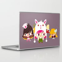 doll Laptop & iPad Skins featuring Doll by Geek