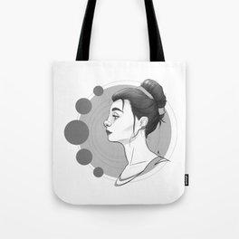 Sci-Fi Girl Tote Bag