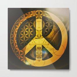 Sacred Peace Metal Print