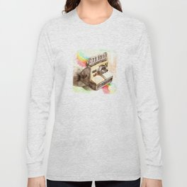 Vintage gadget series: Polaroid SX-70 OneStep camera Long Sleeve T-shirt