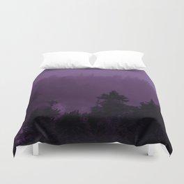 Purple Fog Duvet Cover