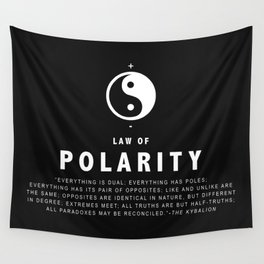 Law of Polarity Wall Tapestry