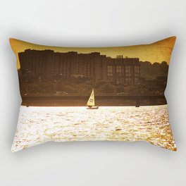 City Backdrop Rectangular Pillow