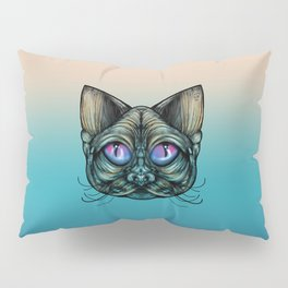 Zombie Cat Pillow Sham