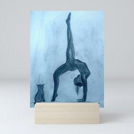 Yoga Sara 2 Mini Art Print