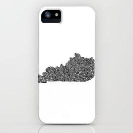Typographic Kentucky iPhone Case