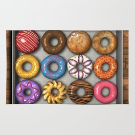 Box of Doughnuts Rug
