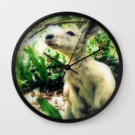Wallaby Wall Clock