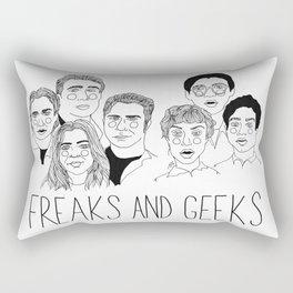 Freaks and Geeks Rectangular Pillow