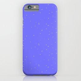 Lavender Blue Shambolic Bubbles iPhone Case