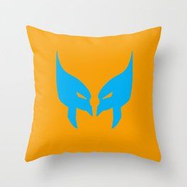 Wolverine Mask Throw Pillow