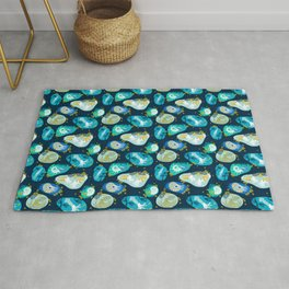 Cephalopods through time Rug