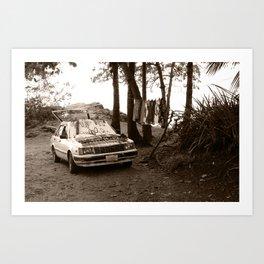 Sales Car Art Print