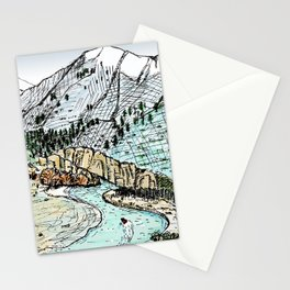 Shotover River Stationery Cards