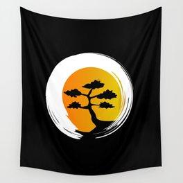 Zen Tree Wall Tapestry