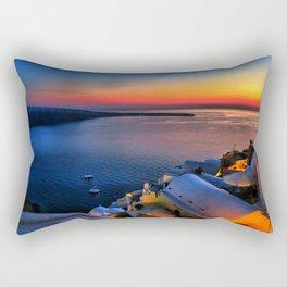 Santorini 19 Rectangular Pillow
